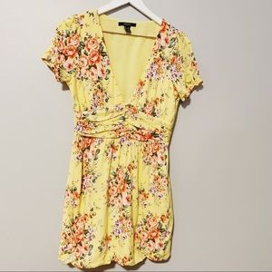 Yellow Spring Dress x Forever 21